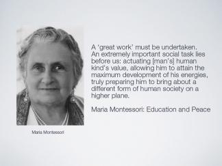 Quote Maria Montessori 3 August 2016 Educateurs Sans